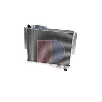Kühler, Motorkühlung -- AKS DASIS, MG, MGB GT, Länge [mm]: 468...