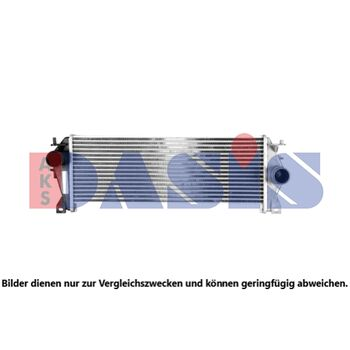 Ladeluftkühler -- AKS DASIS, LAND ROVER, DEFENDER Station Wagon (LD_), ...
