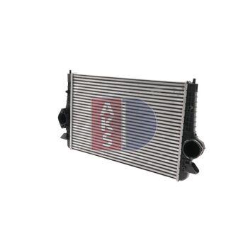 Ladeluftkühler -- AKS DASIS, VW, SEAT, FORD, SHARAN (7M8, 7M9, 7M6), ...