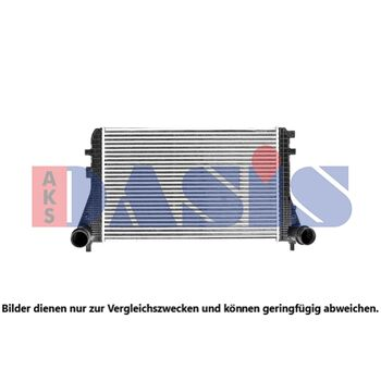 Ladeluftkühler -- AKS DASIS, VW, TIGUAN (5N_), PASSAT Variant (365), ...