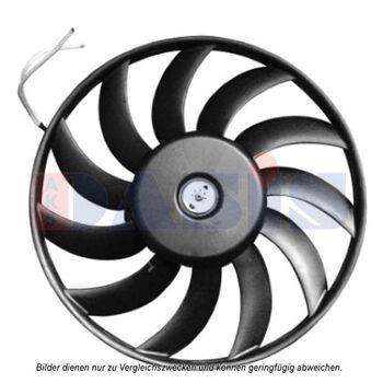 Lüfter, Motorkühlung -- AKS DASIS, AUDI, A6 Avant (4F5, C6), (4F2,, ...