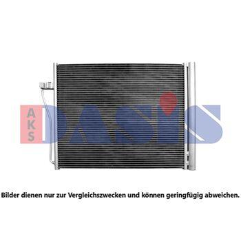 Kondensator, Klimaanlage -- AKS DASIS, BMW, 7 (F01, F02, F03, F04)...