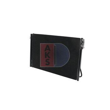 Kondensator, Klimaanlage -- AKS DASIS, BMW, 1 (E87), 3 (E90), (E81), ...