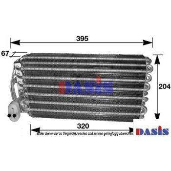 Evaporator, air conditioning -- AKS DASIS, BMW, 7 (E38)...