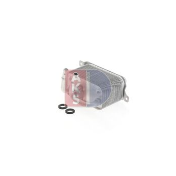 Oil Cooler, engine oil -- AKS DASIS, BMW, 5 (E60), 7 (E65, E66, E67), ...