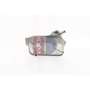 Oil Cooler, engine oil -- AKS DASIS, BMW, 1 (E87), 3 Touring (E91), ...