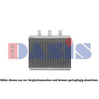 Heat Exchanger, interior heating -- AKS DASIS, BMW, 7 (E65, E66, E67)...