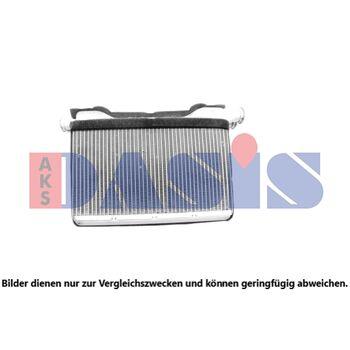 Heat Exchanger, interior heating -- AKS DASIS, BMW, ALPINA, 5 (F10), ...
