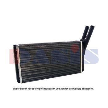 Heat Exchanger, interior heating -- AKS DASIS, BMW, 3 (E21), 5 (E28)...