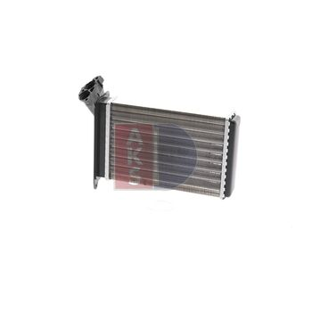 Heat Exchanger, interior heating -- AKS DASIS, BMW, 3 Convertible...