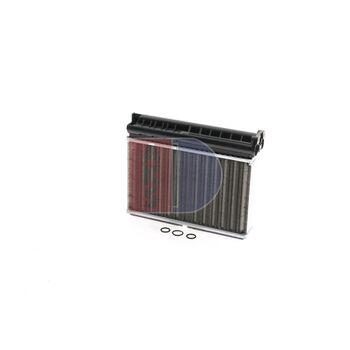 Heat Exchanger, interior heating -- AKS DASIS, BMW, 5 (E39), 3 (E36), ...
