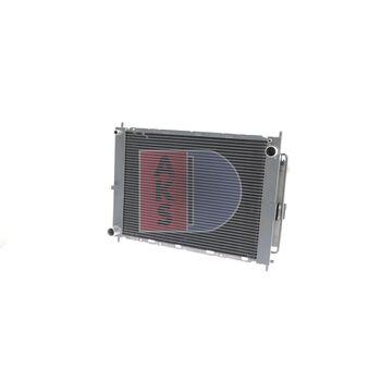 Kühlmodul -- AKS DASIS, NISSAN, MICRA III (K12), Netzmaße: 510x380x38...