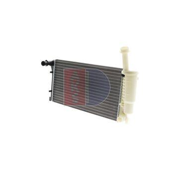 Radiator, engine cooling -- AKS DASIS, FIAT, PANDA (169_), Van...