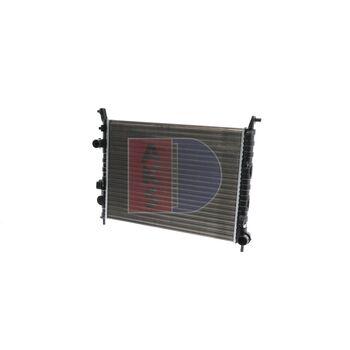 Radiator, engine cooling -- AKS DASIS, FIAT, STRADA Pickup (178_), ...