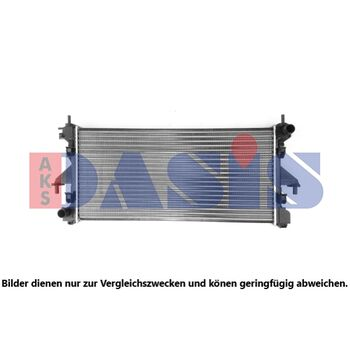 Radiator, engine cooling -- AKS DASIS, FIAT, DUCATO Bus (250_, 290_), ...