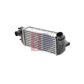 Intercooler, charger -- AKS DASIS, FIAT, 500 (312_), C...