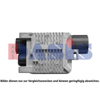 Fan, radiator -- AKS DASIS, Weight [kg]: 0,9, Weight [g]: 900, New Part:
