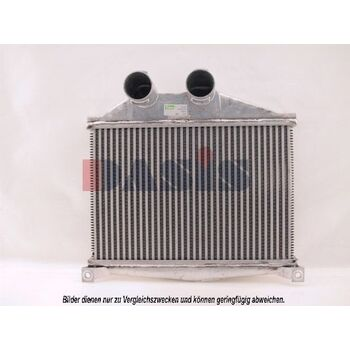 Intercooler, charger -- AKS DASIS, MERCEDES-BENZ, Radiator_intercooler,...