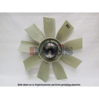 Fan, radiator -- AKS DASIS, MERCEDES-BENZ, Radiator_Visco Fan, O 404, ...