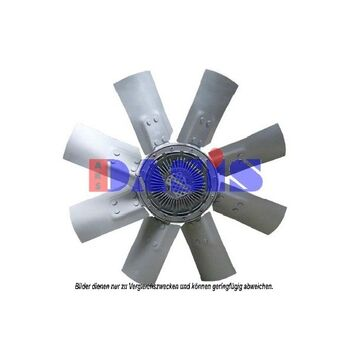 Fan, radiator -- AKS DASIS, MERCEDES-BENZ, Radiator_Visco Fan, O 407, ...