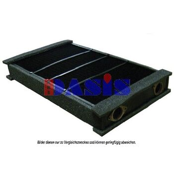 Heat Exchanger, interior heating -- AKS DASIS, MERCEDES-BENZ, ..., O...