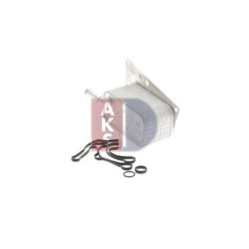 Oil Cooler, engine oil -- AKS DASIS, OPEL, FIAT, SAAB, CADILLAC, ...