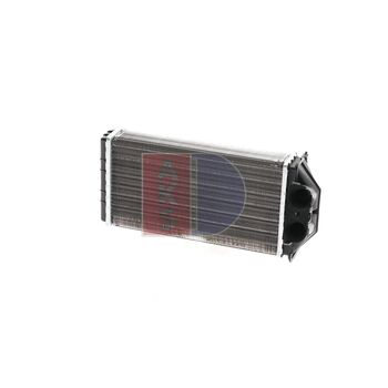 Heat Exchanger, interior heating -- AKS DASIS, PEUGEOT, 307 Break (3E),...