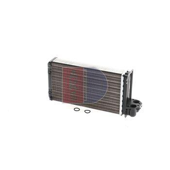Heat Exchanger, interior heating -- AKS DASIS, PEUGEOT, 205 II (20A/C),...