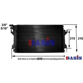 Condenser, air conditioning -- AKS DASIS, PORSCHE, 944, Convertible, ...