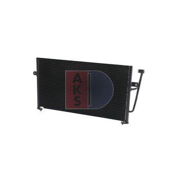 Condenser, air conditioning -- AKS DASIS, VOLVO, MITSUBISHI, V40...