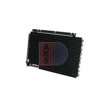 Condenser, air conditioning -- AKS DASIS, VOLVO, 940 II Estate (945), ...