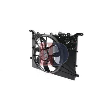 Fan, radiator -- AKS DASIS, VOLVO, V70 II (285), (SW), S60 I (384), ...