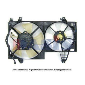 Fan, radiator -- AKS DASIS, VOLVO, MITSUBISHI, V40 Estate (645), ...