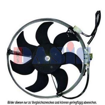 Fan, A/C condenser -- AKS DASIS, VOLVO, 740 Kombi (745), (744), 780, ...
