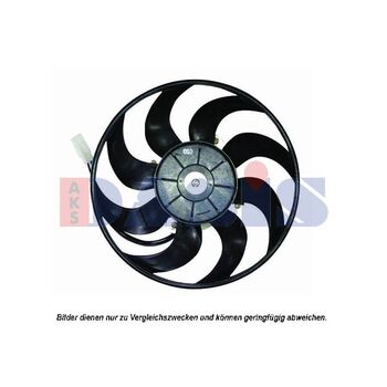Fan, A/C condenser -- AKS DASIS, VOLVO, 740 Kombi (745), (744)...