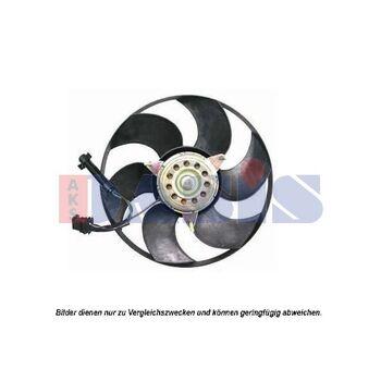 Fan, radiator -- AKS DASIS, New Part: ...