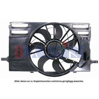 Fan, radiator -- AKS DASIS, VOLVO, V50 (545), (MW), S40 II (MS), ...