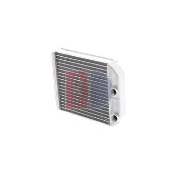 Heat Exchanger, interior heating -- AKS DASIS, MITSUBISHI, VOLVO, ...