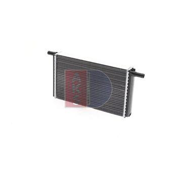 Wärmetauscher, Innenraumheizung -- AKS DASIS, VW, ..., Länge [mm]: 300...
