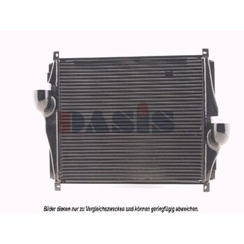 Intercooler, charger -- AKS DASIS, MAN, Radiator_intercooler, EL, NL,...