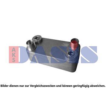 Oil Cooler, retarder -- AKS DASIS, SCANIA, Retarder Ölkühler, P,G,R,T...