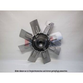 Fan, radiator -- AKS DASIS, SCANIA, NEOPLAN, Radiator_Visco Fan, 3 -...