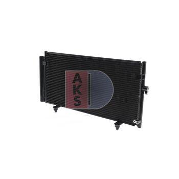Kondensator, Klimaanlage -- AKS DASIS, SUBARU, LEGACY IV Station Wagon...