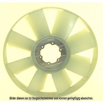 Fan Wheel, engine cooling -- AKS DASIS, IVECO, Fan wheels, IRISBUS,...