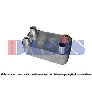 Oil Cooler, retarder -- AKS DASIS, Retarder Ölkühler, Ölkühler...