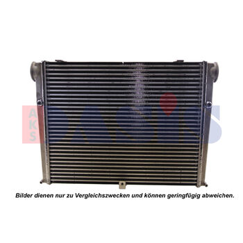 Intercooler, charger -- AKS DASIS, Radiator_intercooler, Lenght 750mm /...