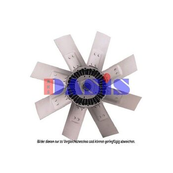 Fan, radiator -- AKS DASIS, Radiator_Visco Fan, Wing quantity 8...