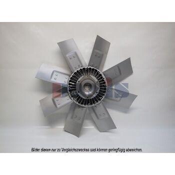 Fan, radiator -- AKS DASIS, Radiator_Visco Fan, Wing quantity 8...