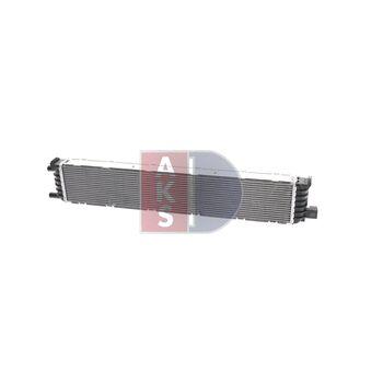 Kühler, Motorkühlung -- AKS DASIS, AUDI, A4 Avant (8K5, B8), A5...