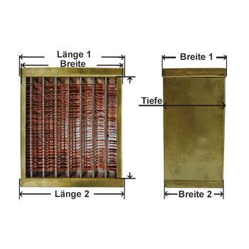 Kühlernetz, Motorkühlung -- AKS DASIS, Kühlernetze alle Arten, Kupfer...